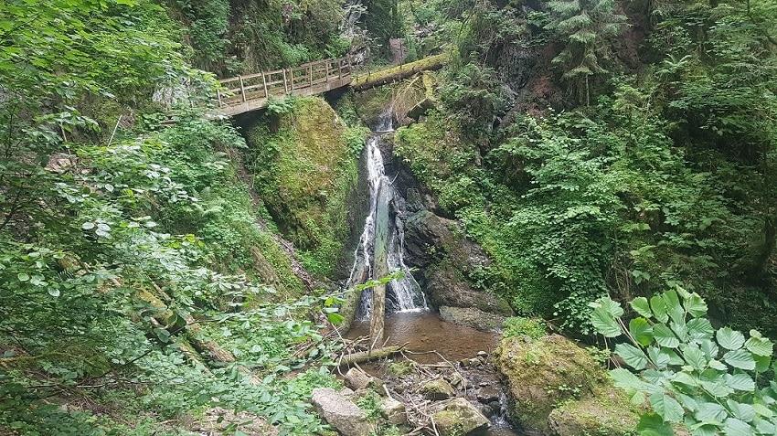 Wasserfall in der Lotenbachklamm