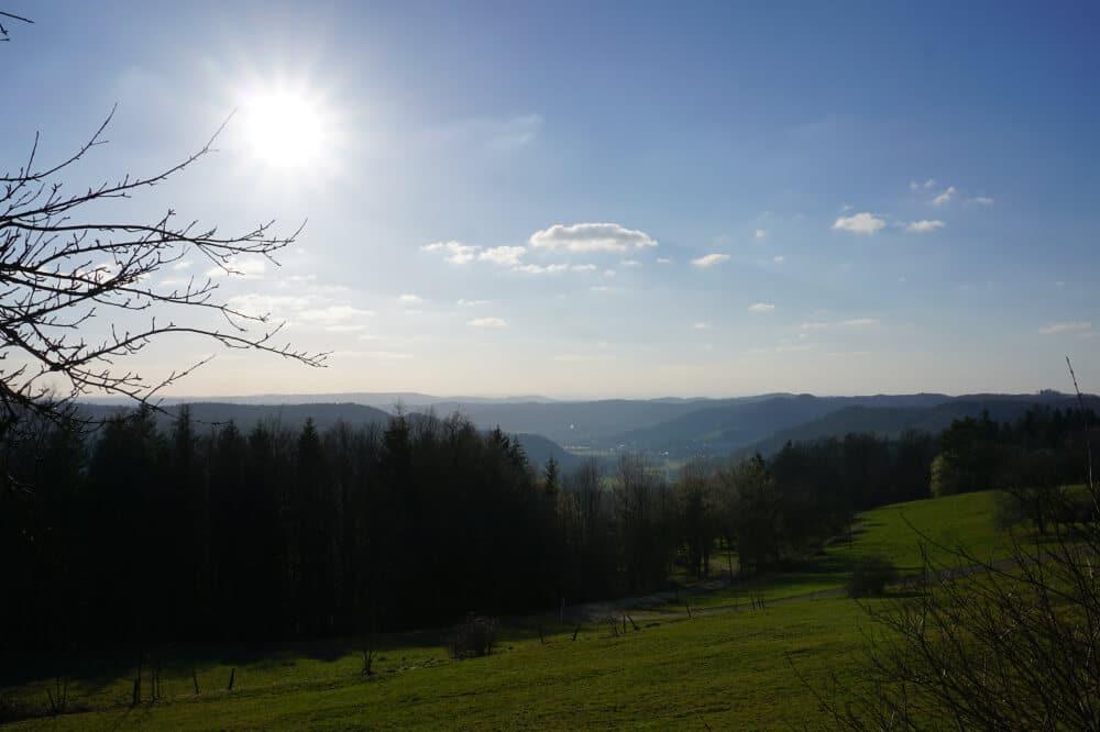 Tolle Aussicht in Schmalenberg