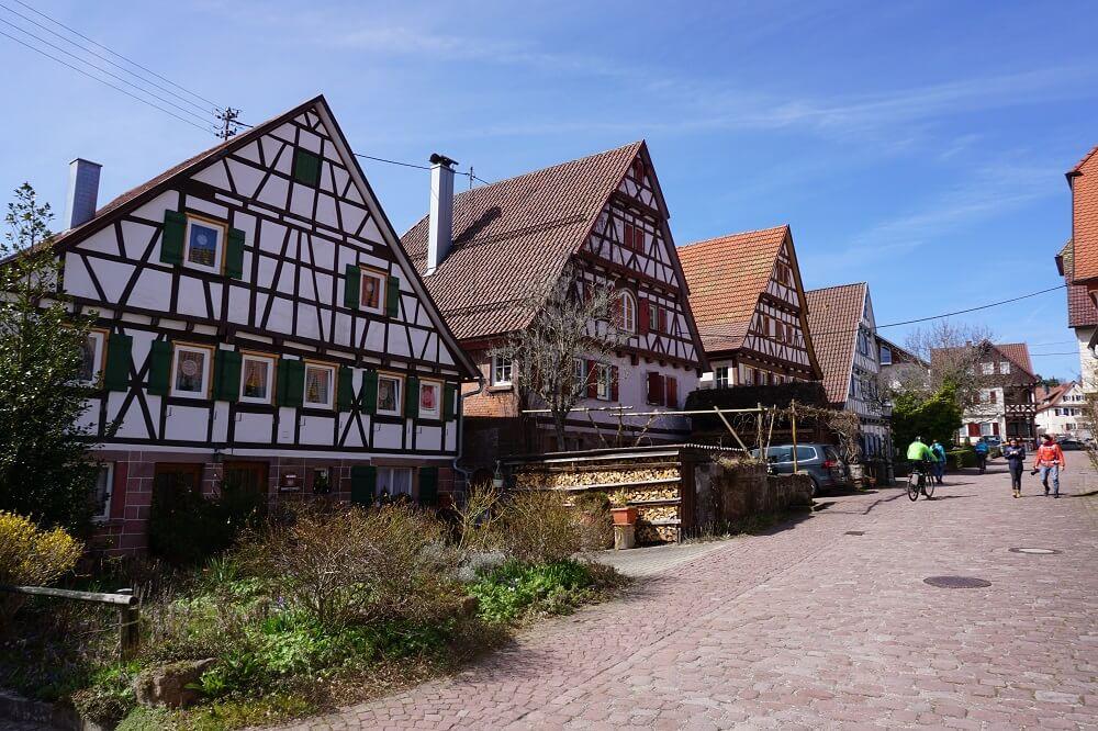 Fachwerkhäuser in Zavelstein