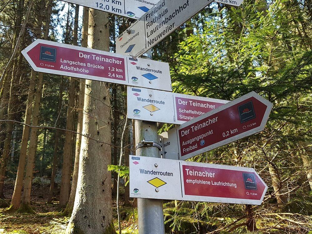 Schilderwald Der Teinacher