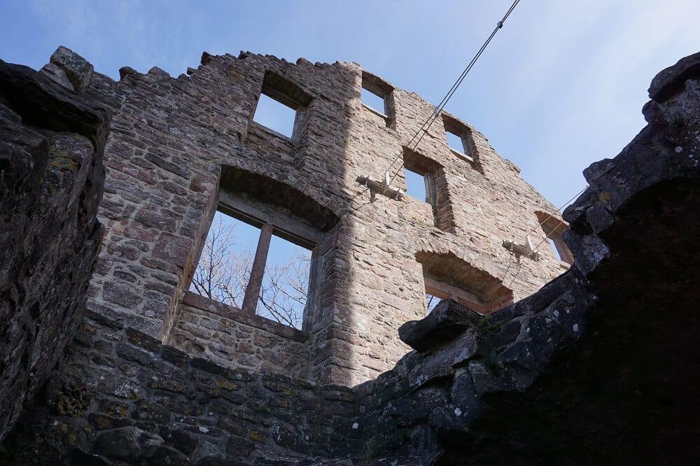 Alte Mauer Burg Zavelstein
