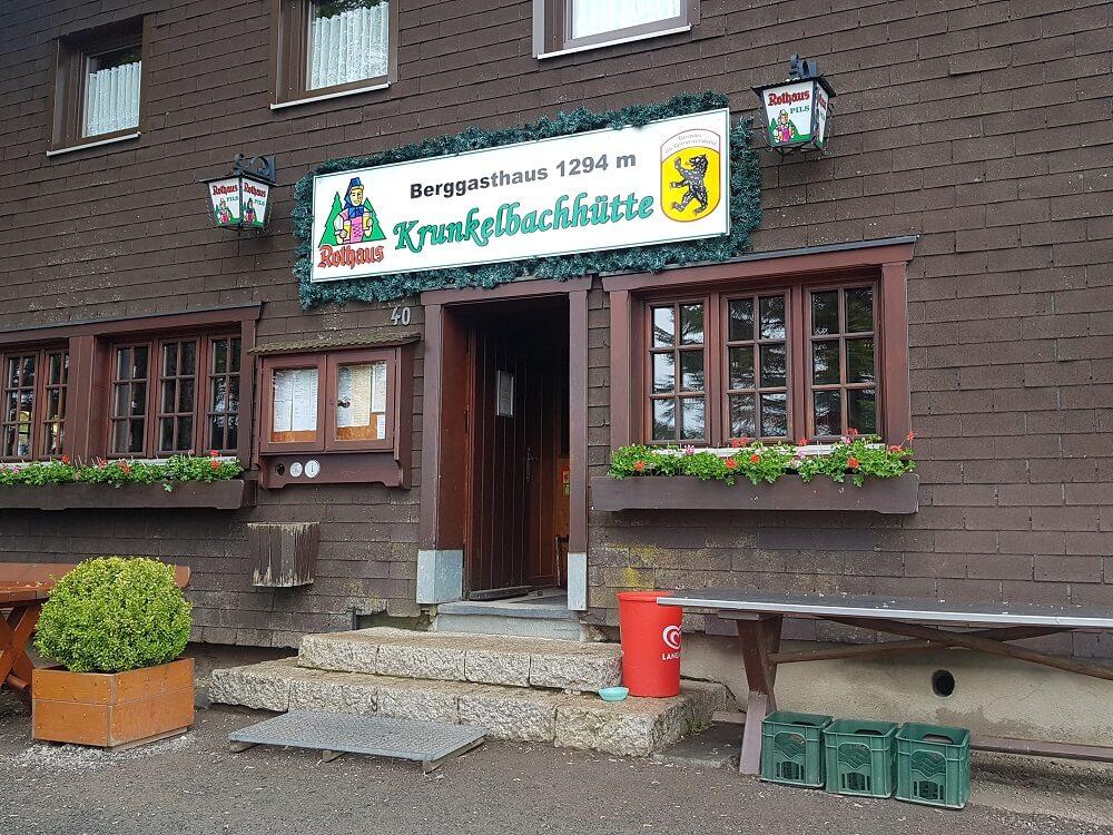 Berggasthaus Eingang