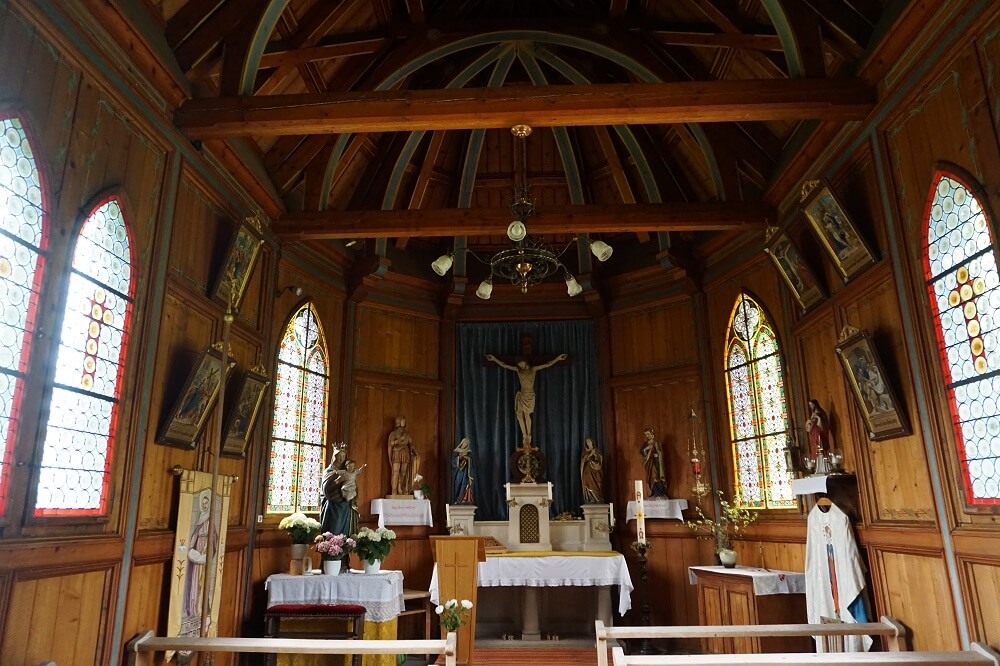 Innenleben Kirche