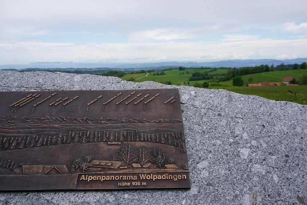 Alpenpanorama Wolpadingen