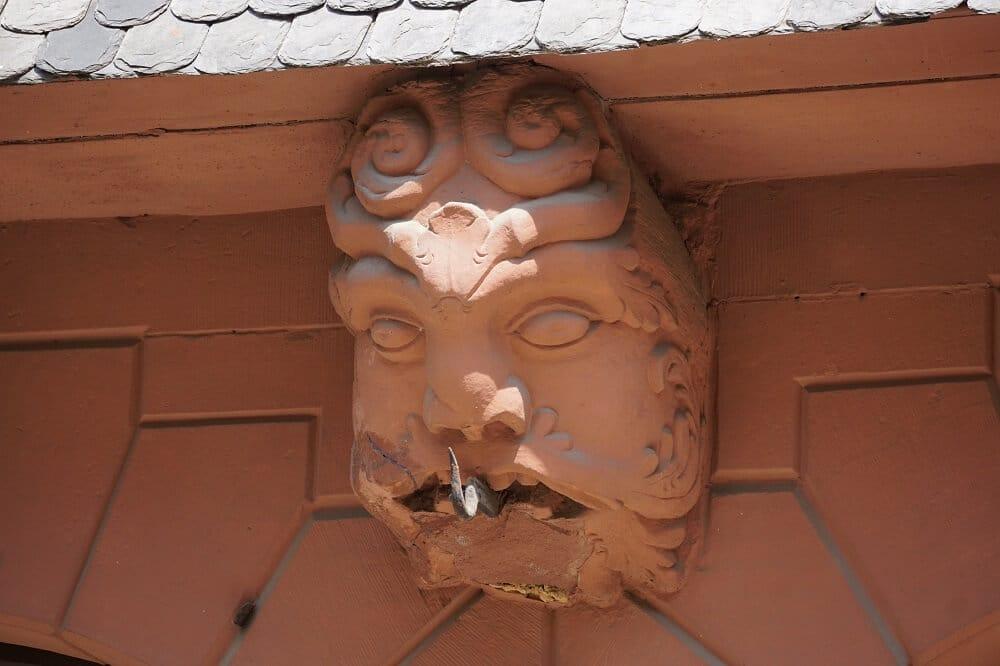 Fresko an Hausfassade