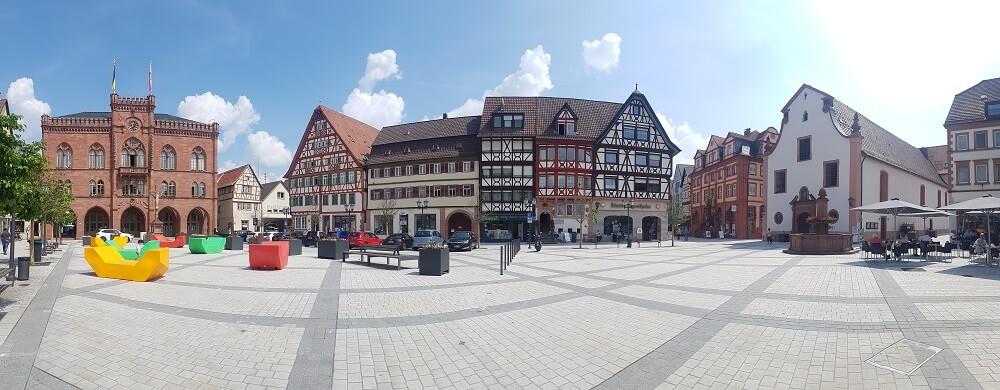 Innenstadt Tauberbischofsheim Häuser