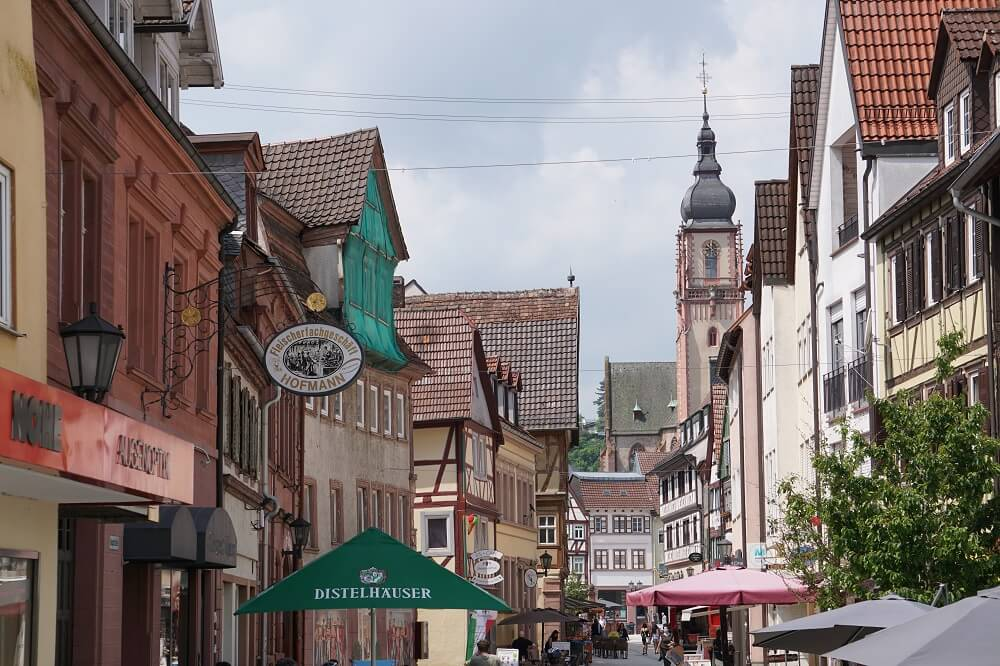 Tauberbischofsheim Innenstadt