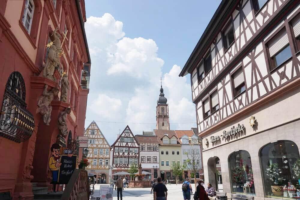 Tauberbischofsheim Fachwerkhäuser