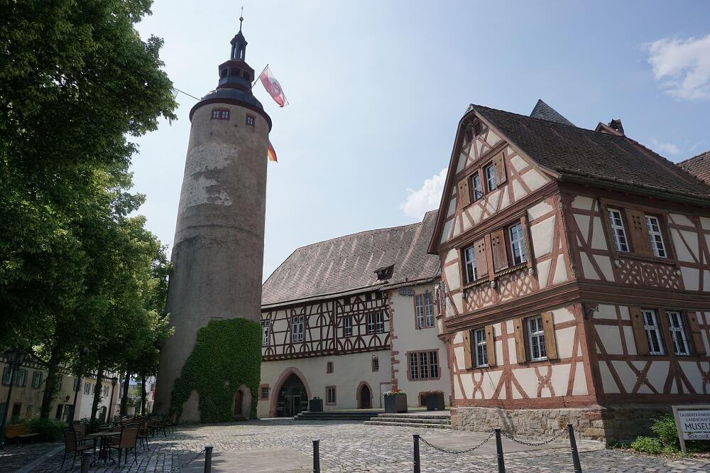 Turm Fachwerkhaus Tauberbischofsheim