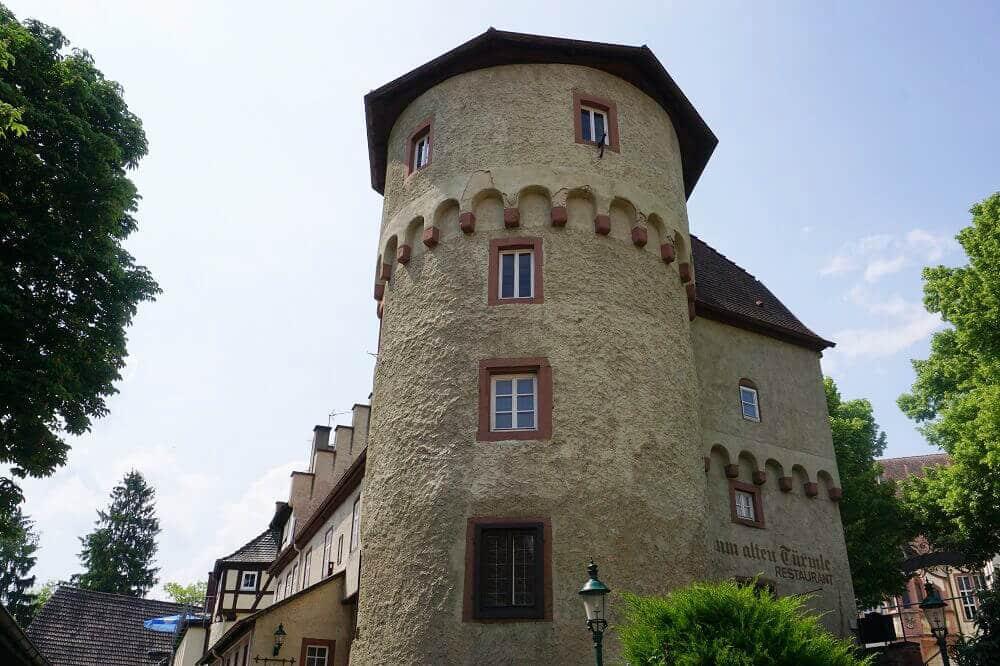 Alter Wachtturm in Tauberbischofsheim