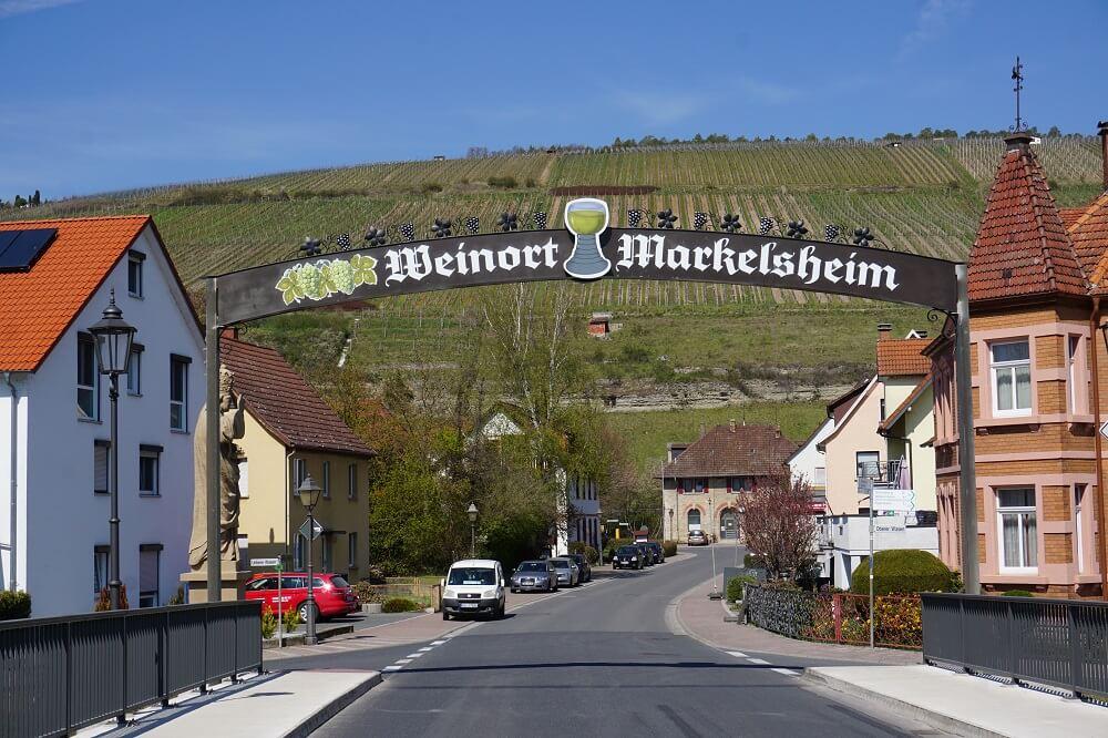 Schild Ortseingang Markelsheim
