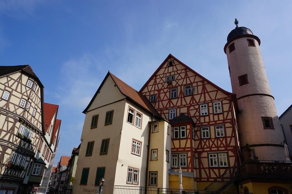 Wertheim Häuser Innenstadt