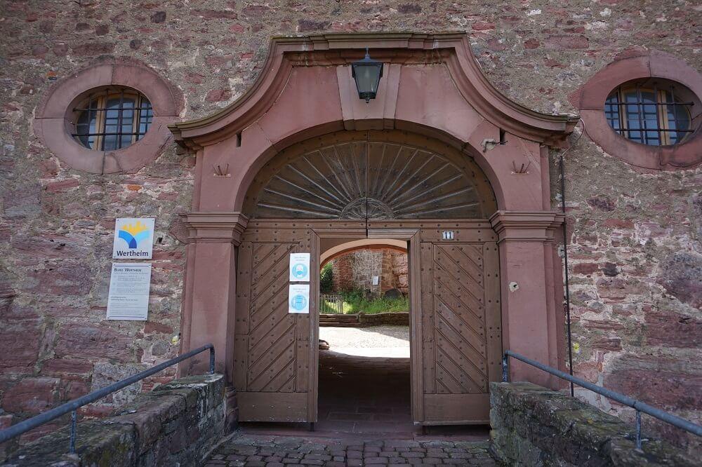 Eingangstor Burg Wertheim
