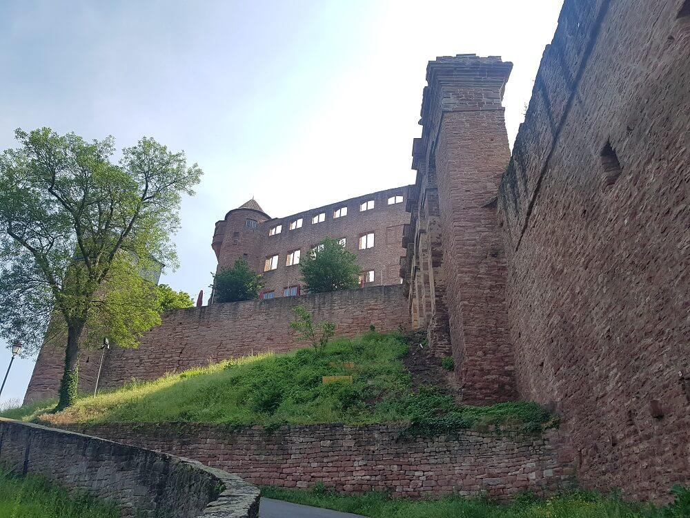Aufstieg Burg Wertheim