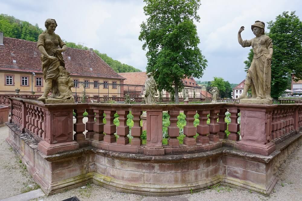 Kloster Bronnbach Skulpturen