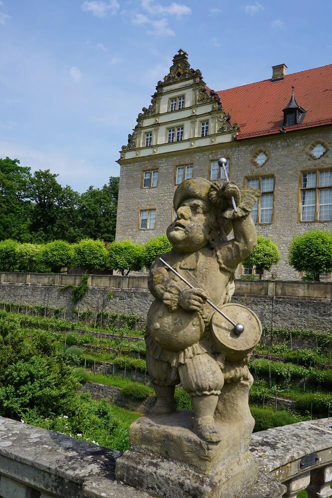 Skulptur Schloss Weikersheim